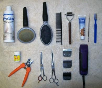 Suggested Grooming Tools