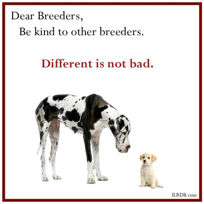 Be Kind to Other Breeders – Start Today!