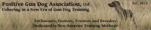 Positive Gun Dog Association
